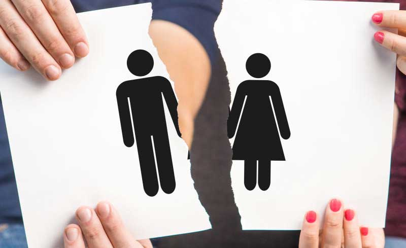 What are the reasons due to which people get divorced
